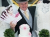 Preparations for the Telford Shopping Centre Wedding Event. Pictured is Andy Alexander, from Stirchley in Telford.